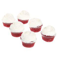 Magnolia Bakery: Red Velvet Cupcakes.