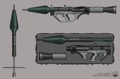 ArtStation - EvoTag: Phoenix RPG, Wouter Kroon Cosplay Weapons, Sci Fi Weapons, Weapon Concept Art, Fantasy Weapons, Military Weapons, Military Art, Pump Action Shotgun, Iron Sights, Future Weapons