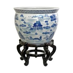 I pinned this Chinois Fishbowl Planter from the Loot Design House event at Joss and Main! - I need about 3 of these...