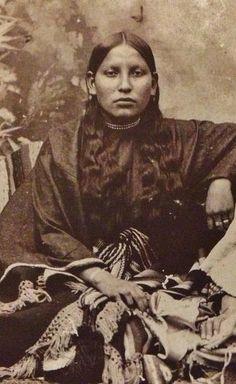Comanche woman circa 1900