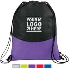 PolyPro Non-Woven Cinch Alternative To Plastic Bags, Promotional Giveaways, Make Your Logo, Branded Gifts, Corporate Gifts, Drawstring Backpack, Branding, Backpacks, Label