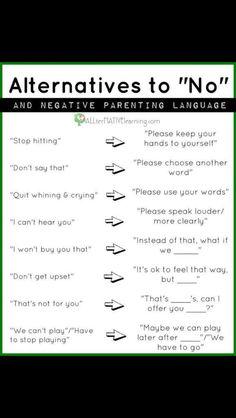 Positively correcting children