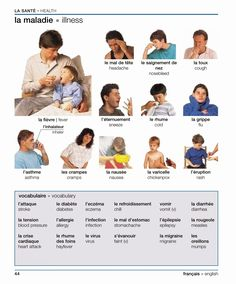 French for Newbies: La santé
