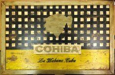 Cohiba La Habana, Cuba Sign Poster Print, 22 x Cohiba Cigars, Buy Cigars Online, Quality Photo Prints, Cigar Art, Wood For Sale, Cuban Cigars, Sign Display, Distressed Wood, Sale Poster