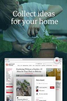 Save all the creative home improvement ideas you find online. All you need is the Pinterest browser button: http://pin.it/TQI28FV.