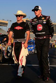 Austin & Ty Dillon at Atlanta Motor Speedway: Day 1