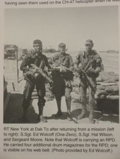 macv sog team with chopped down rpd | Images courtesy of Frank Greco, Running Recon (Paladin Press, 2004).