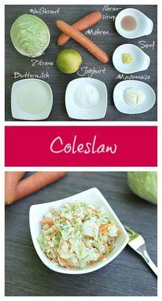Coleslaw - ein leckerer und einfacher Krautsalat aus den USA