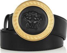 Versace Black Emblem Belt Style Homme, Chaussure, Ceintures De Marque,  Ceintures De Créateurs c8715440dba