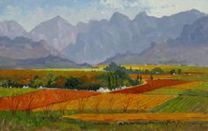 Artwork of Roelof Rossouw exhibited at Robertson Art Gallery. Original art of more than 60 top South African Artists - Since Blue Artwork, Cool Artwork, V&a Waterfront, Blue Boat, South African Artists, Original Art, Art Gallery, River, Painting
