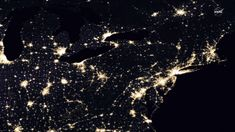 Photos from space at night north korea goes black north korea lights of human activity shine in nasas image of earth at night gumiabroncs Choice Image