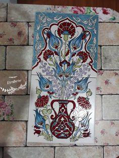 Turkish Tiles, Decoupage, Porcelain