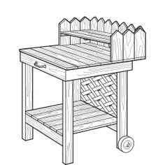 How to Build a Potting Cart