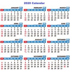 Great Pic 2020 calendar png Thoughts It is a fact of which the most up-to-date life style trend renders people today turn into also busy. Printable Yearly Calendar, Free Printable Calendar Templates, New Year Calendar, 2020 Calendar Template, Calendar 2020, Free Printables, Design Fonte, Calendar Design, Banner Design
