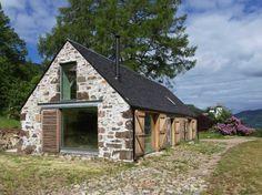 Communial building? stone finish