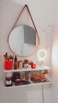 Simple Bedroom Decor, Teen Room Decor, Room Ideas Bedroom, Home Bedroom, Aesthetic Room Decor, Home Room Design, Dream Rooms, Decoration, Home Decor