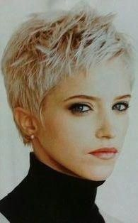 55 New Short Hairstyles for 2019 Bob Cuts for Everyone, New Short Hairstyles for 2019 So the haircuts of 2018 2019 year have absorbed all the good and quality that was offered in previous years. Short Hairstyles For Thick Hair, Short Grey Hair, Short Pixie Haircuts, Girl Short Hair, Short Hair Cuts, Curly Hair Styles, Trending Hairstyles, Pixie Hairstyles, Bob Cuts