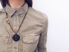 Hand Stitched Tamarancho Slip Necklace | Zelma Rose