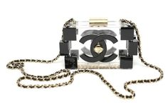 Chanel clear 'Lego' Clutch - Spring-Summer 2013