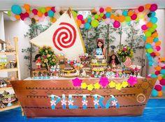 Festa Moana muito linda! Estou adorando as festas nesse tema. Por @joaoemariafestas #kikidsparty ...