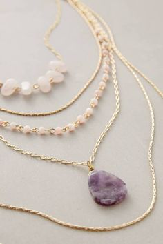 Violett Layer Necklace