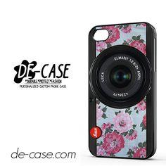 2b753fb16c Original Floral Leica Camera For Iphone 4 Iphone 4S Case Phone Case Gift  Present YO