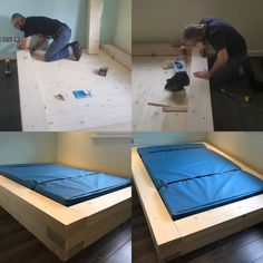This bed was made for a autistic young man who was taking his bed to pieces, this is made extremely strong with all screws hidden