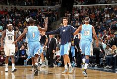 #Nuggets vs. Grizzlies -great job Nuggets