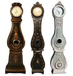 Mora Clocks, Keywords:Gustavian, Gustavian Furniture, Distressed Furniture, Country French Furniture, Shabby Chic Furniture, Scandinavian Design, Nordic Style, Swedish Furniture, Swedish Decorating, Mora Clocks