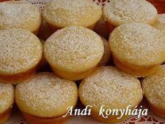 Citromos - túrós muffin - Andi konyhája - Sütemény és ételreceptek képekkel