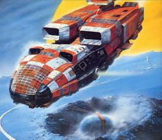 Chris Foss by myriac, via Flickr | Click through for a larger image