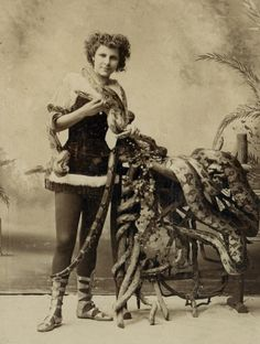 Millie Betra, Ringling Bros, The Serpent Queen.