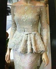 Kebaya Lace, Kebaya Hijab, Kebaya Dress, Kebaya Muslim, Myanmar Traditional Dress, Traditional Dresses, Batik Dress, Silk Dress, Trendy Dresses