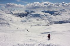Back country skiing in Norway by erikwk Sport Photography #InfluentialLime