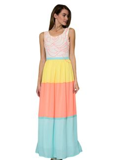 Santa Monica Sunrise Maxi Dress