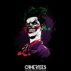 """""""Why so serious?"""" by donnie T-shirts, Tank Tops, Sweatshirts and Hoodies are on sale until 14th October at www.OtherTees.com Pin it for a chance at a FREE TEE! #batman #joker #gothamcity #gotham #whysoserious #dccomics #dc #comics"""