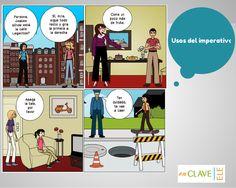 Unidad 1. Imperativos y sus usos. Dar consejos, instrucciones, órdenes, advertir y disculparse.