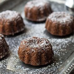 Persimmon Chocolate Cake- Stumped by persimmons? Try this easy, whole grain persimmon chocolate cake.
