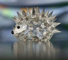 Swarovski hedgehog