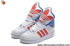 Sale Discount Adidas X Jeremy Scott Big Tongue Shoes White Red