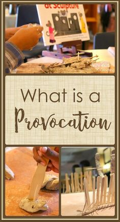What is a provocation? l Fairy Dust Teaching #provocations #ReggioInspired #ProvocationIdeas