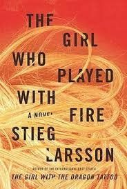 FREE+SHIPPING+!+The+Girl+Who+Played+With+Fire+by+Stieg+Larsson+(Hardcover-2008)
