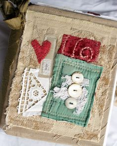 Art Quilt Journal (old quilt) | by Rebecca Sower
