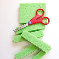 DIY Never-Ending Fabric-Softener Sponges
