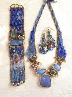 Необыкновенные бисерные украшения от дизайнера Amolia Willowsong