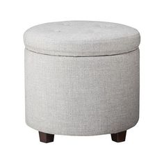 Jive Accent Ottoman ($36) ❤ Liked On Polyvore Featuring Home, Furniture,  Ottomans, Tan, Faux Leather Ottoman, Tufted Footstool, Signature Design Byu2026