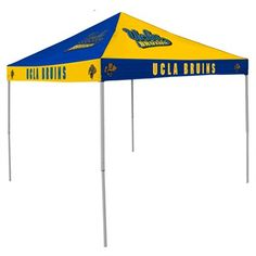 Perfect tent to shed yourself from the outside elements when needed. #tailgating #UCLA