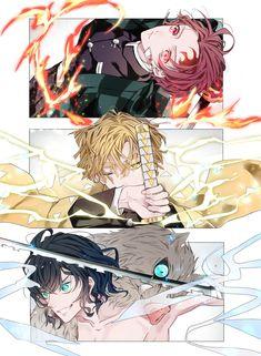 Demon Slayer: Kimetsu No Yaiba manga online Otaku Anime, Manga Anime, Anime Demon, Anime Guys, Anime Art, Demon Slayer, Slayer Anime, Character Art, Character Design
