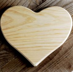 Wood Hearts wide x tall x thick Unfinished Wood Crafts, Manzanita Branches, Wedding Photo Props, Save On Crafts, Wood Plaques, Wood Slab, Arts And Crafts Supplies, Wood Pieces, Wood Boxes