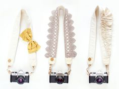 line of beautiful camera straps designed by two wedding photographers. so smart & fun! clearly i need one :)